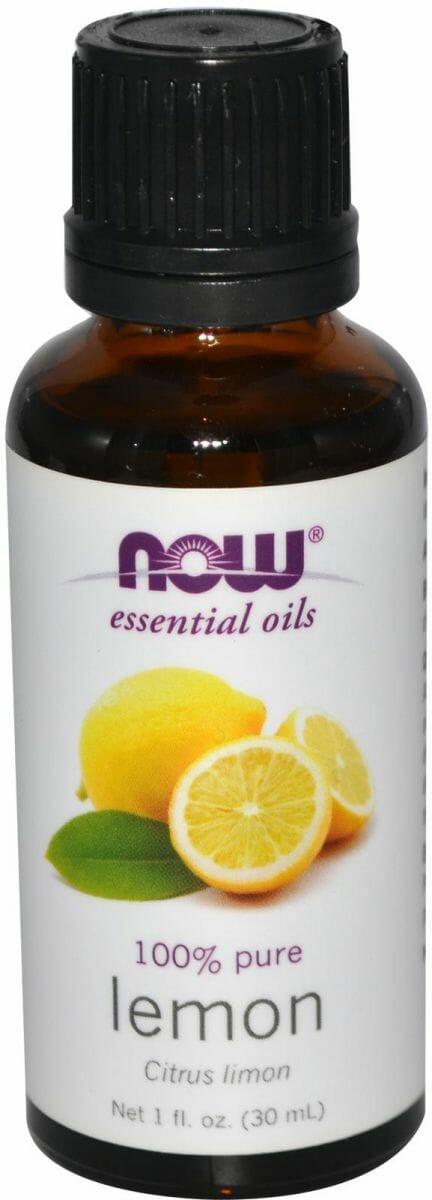 زيت الليمون المركز الطبيعي - لإزالة البقع الداكنة من الوجة و الجسم - Now Foods Oil Lemon 30 ml