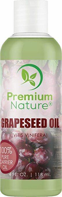 زيت بذور العنب الطبيعي من بريميوم ناتشور، 118 مل