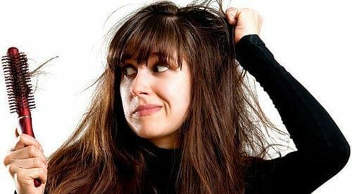 تساقط الشعر بكثرة