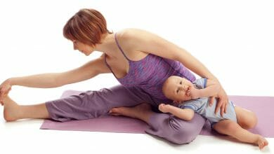 صور تمارين بعد الولادة