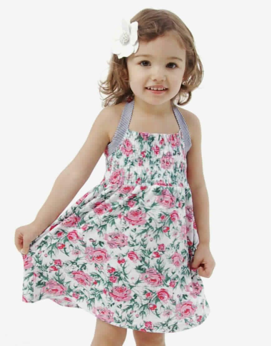 أحدث تصميمات ملابس الاطفال للعيد متنوعة