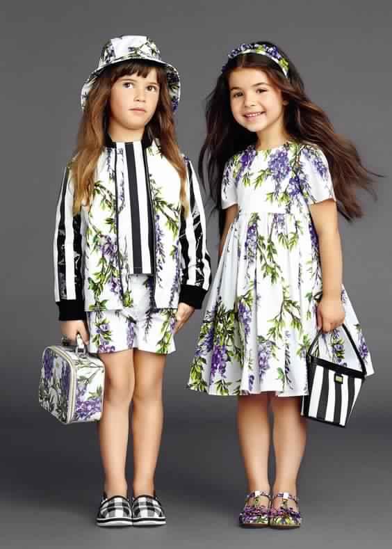 أحدث تصميمات ملابس الاطفال للعيد جديدة