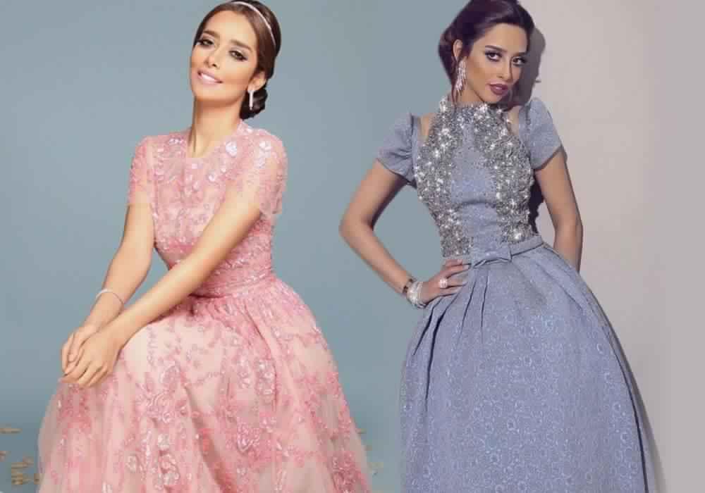 صور أحدث الفساتين التصميمات المميزة لبلقيس فتحى تجنن