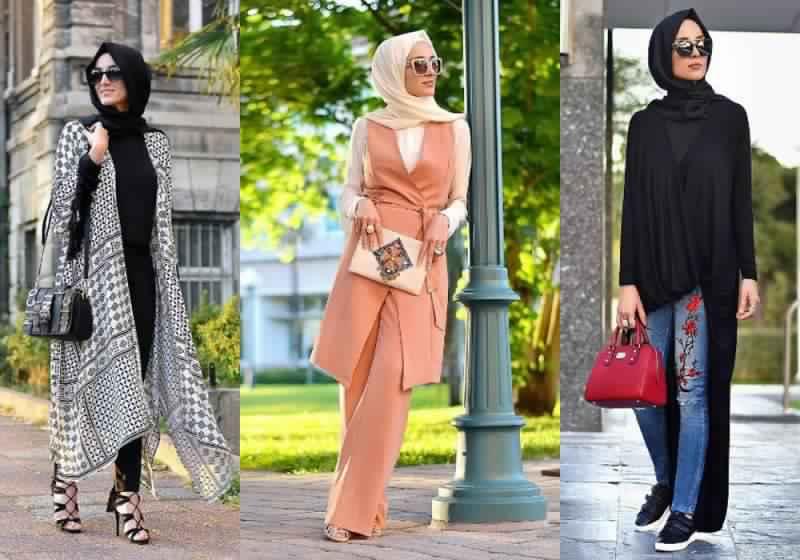 صور مميزة لملابس المحجبات الصيفية منوعة