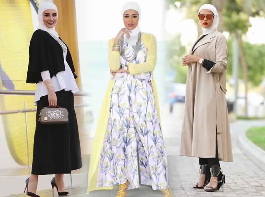 صور مميزة لملابس المحجبات الصيفية روعة