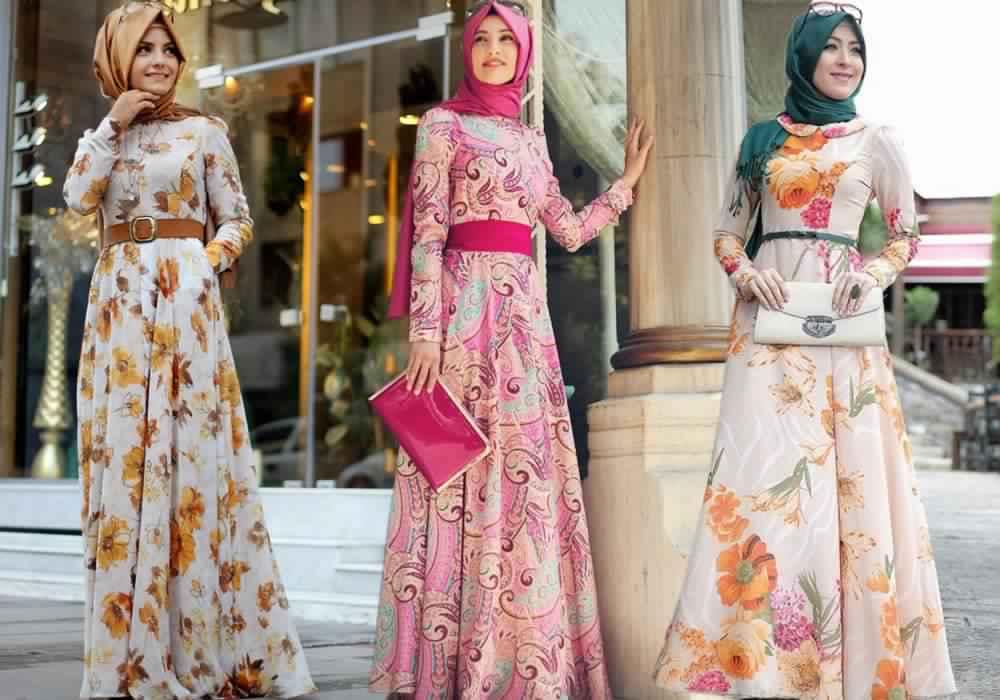 صور مميزة لملابس المحجبات الصيفية حلوة