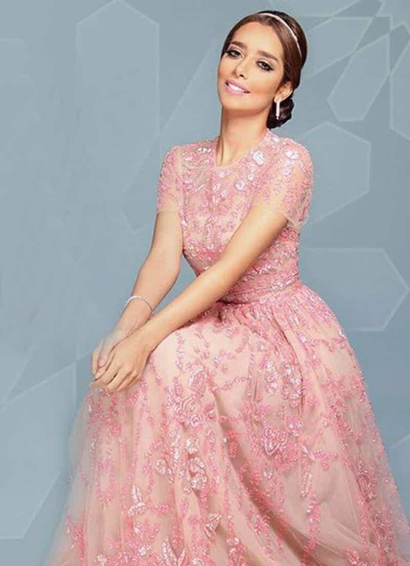 صور أحدث الفساتين التصميمات المميزة لبلقيس فتحى جميلة جدا