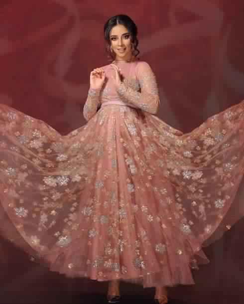 صور أحدث الفساتين التصميمات المميزة لبلقيس فتحى جامدة