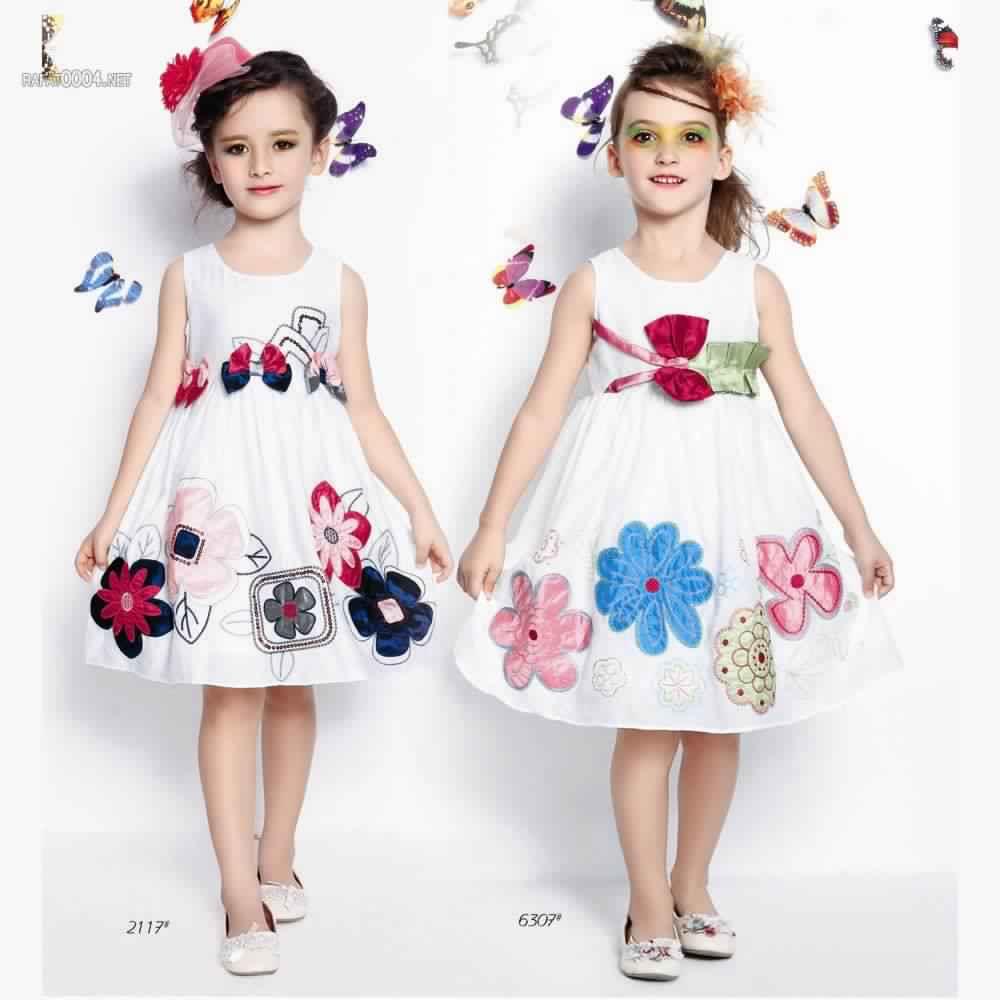 أحدث تصميمات ملابس الاطفال للعيد جميلة