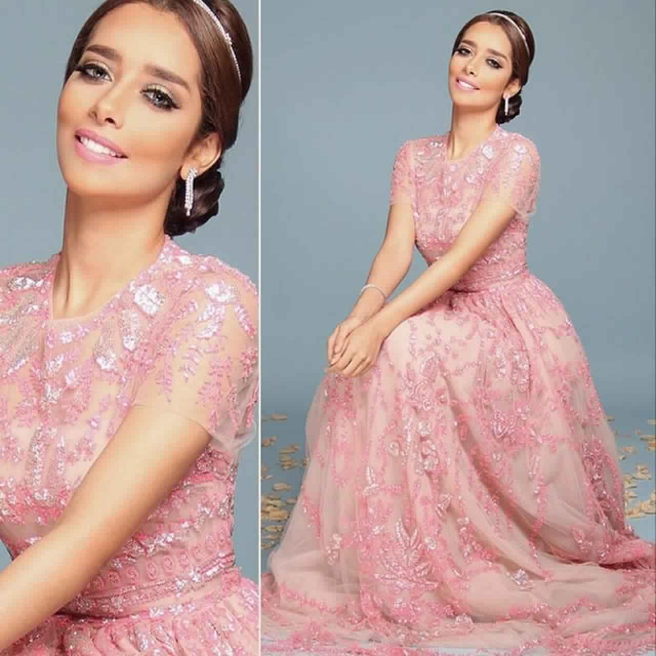 صور أحدث الفساتين التصميمات المميزة لبلقيس فتحى رائعة