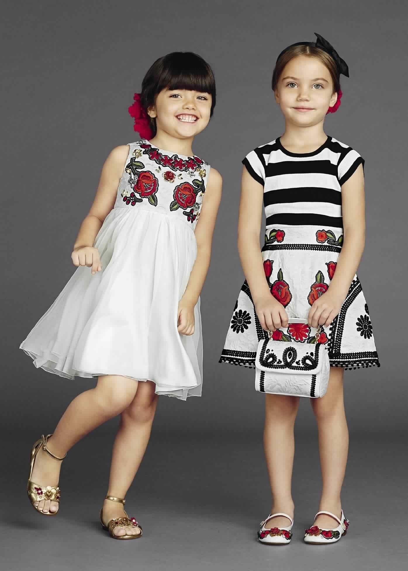 صور مميزة لأجدد موديلات ملابس العيد للاطفال متنوعة