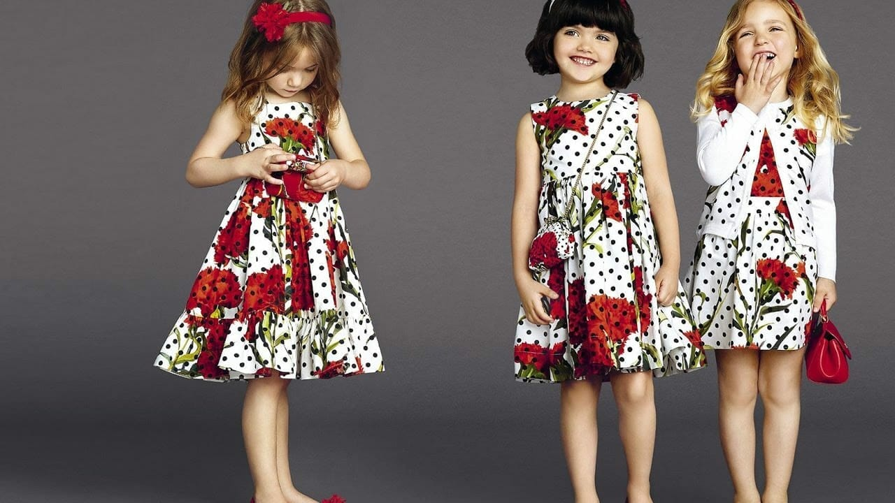 صور مميزة لأجدد موديلات ملابس العيد للاطفال جميلة
