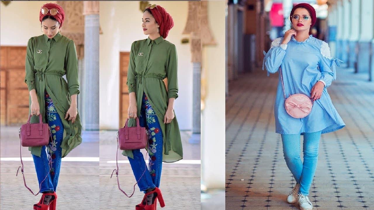 أحدث موديلات أزياء للمحجبات لعام 2019 منوعة