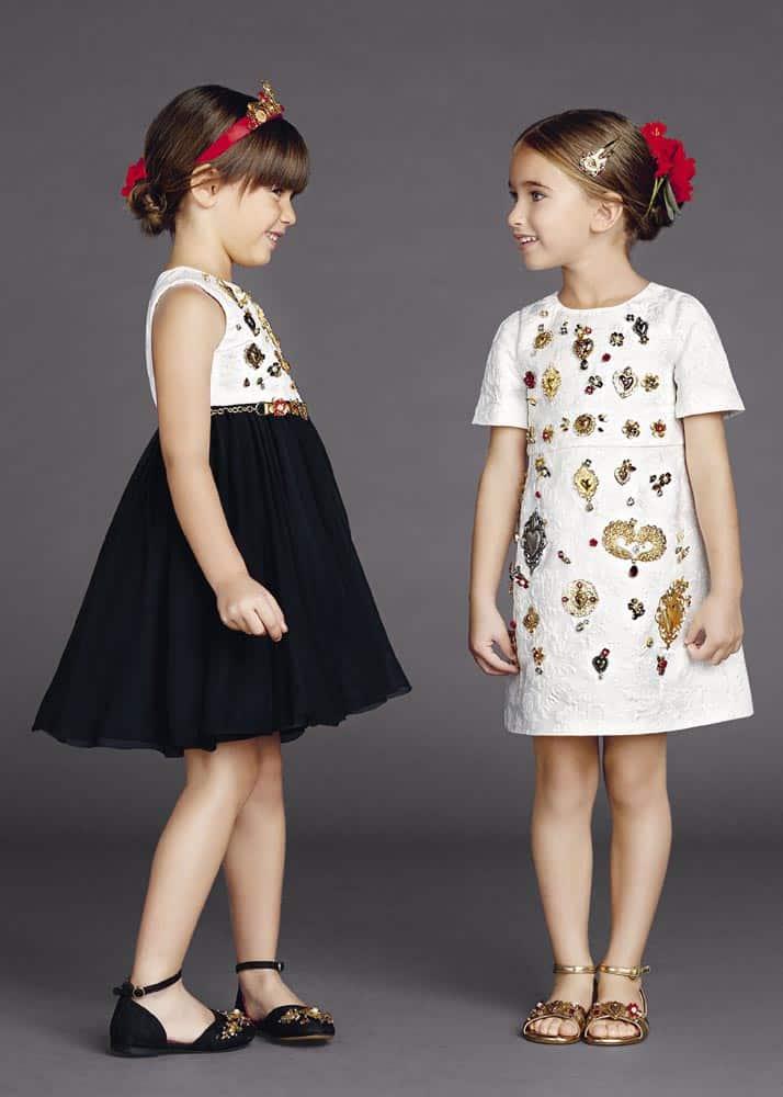أحدث تصميمات ملابس الاطفال للعيد رائعة