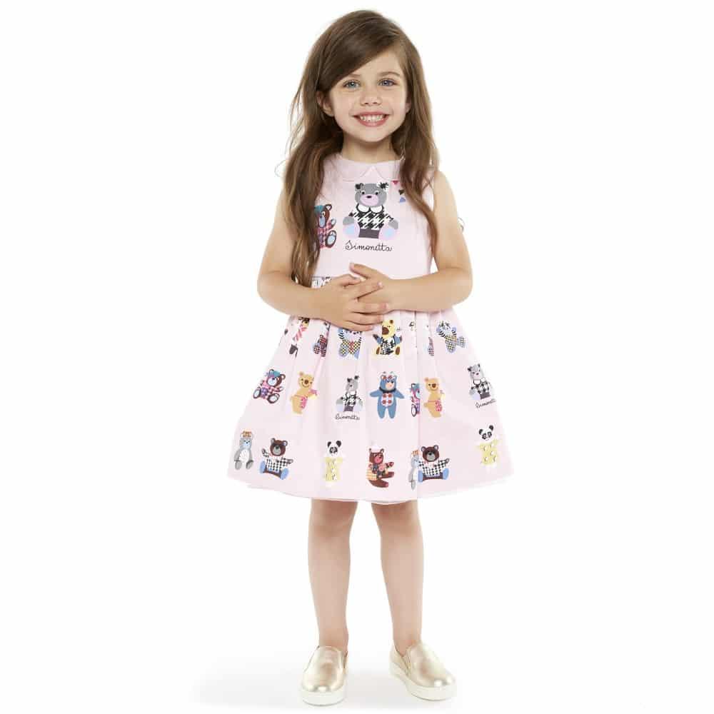 أحدث تصميمات ملابس الاطفال للعيد روعة