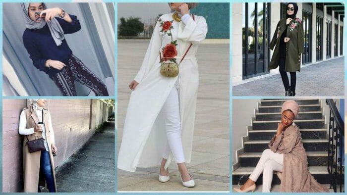 أجدد موديلات لأزياء المحجبات لفصل الربيع جديدة