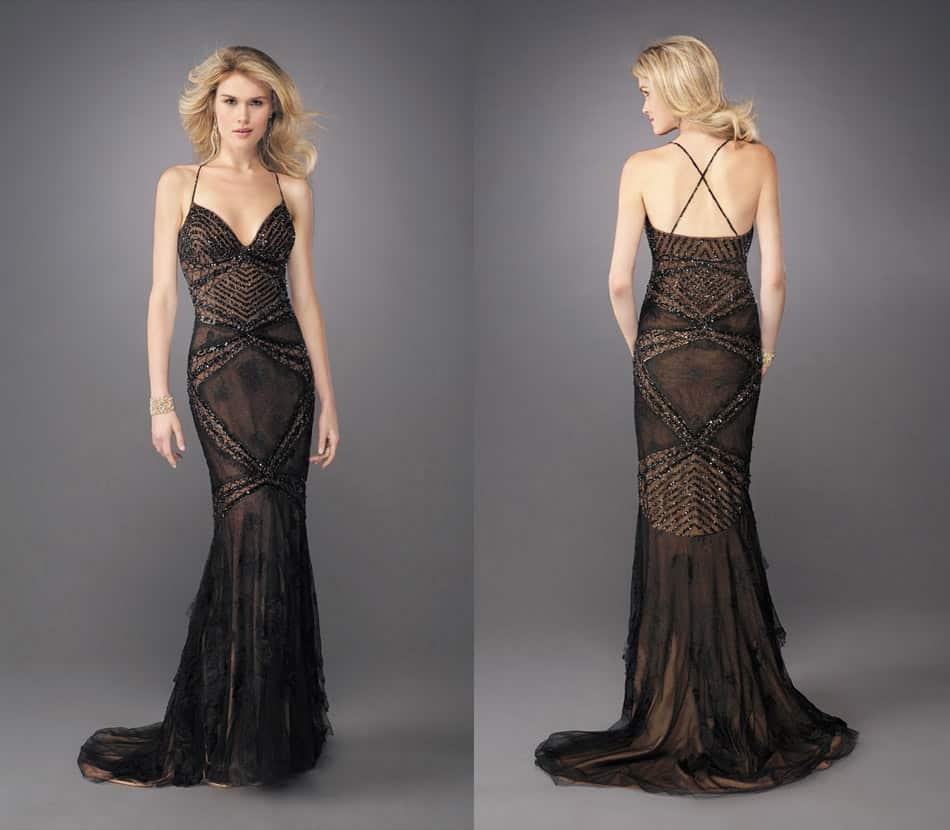 أحدث تصميمات الفساتين البنى على الطراز التركى رائعة