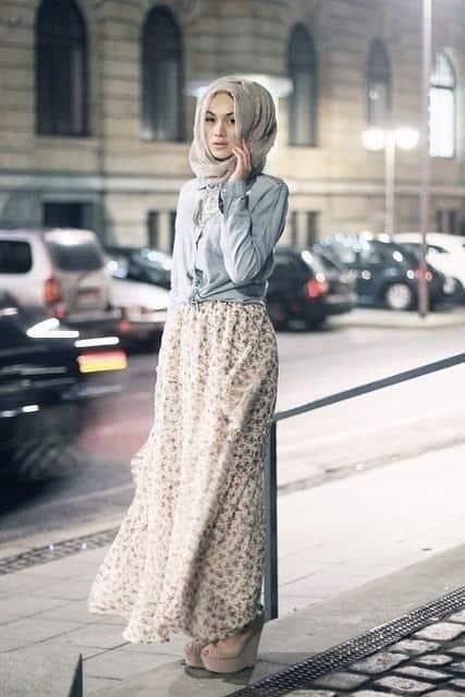 أحدث تصميمات لملابس الربيع للمحجبات رائعة