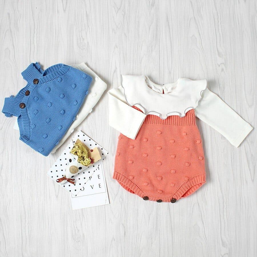 ملابس فصل الخريف للاطفال الرضع جديدة