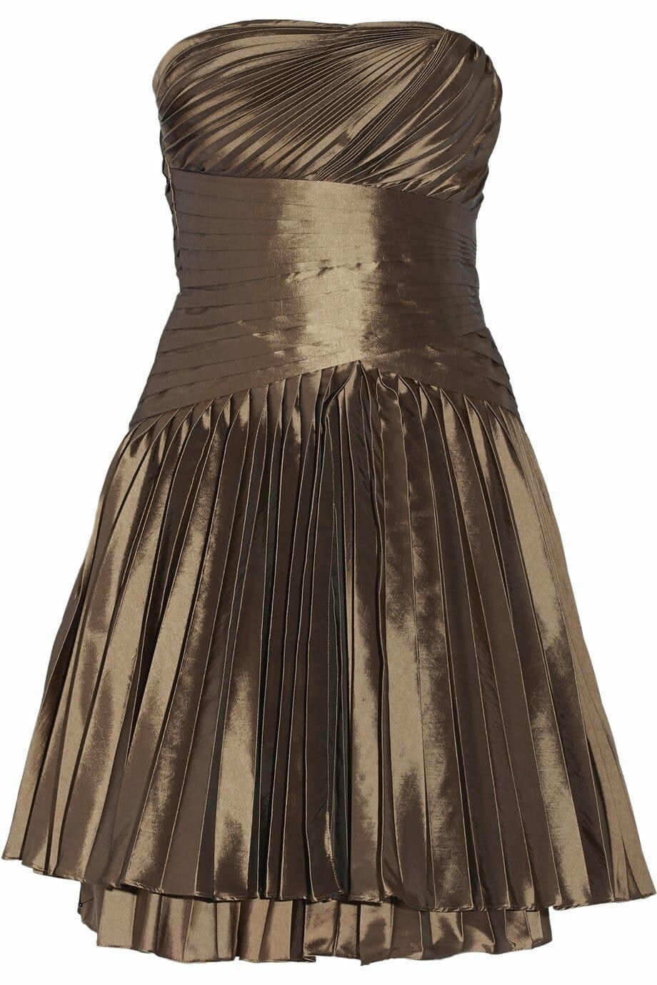 أحدث تصميمات الفساتين البنى على الطراز التركى تجنن