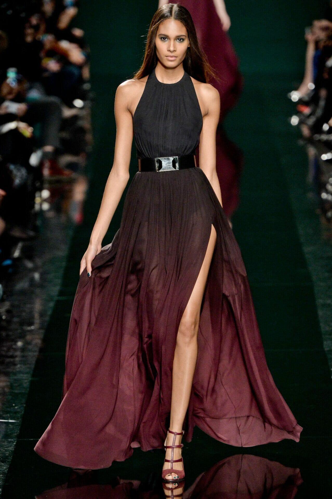 أحدث تصميمات الفساتين للمصمم ايلى صعب جميلة جدا