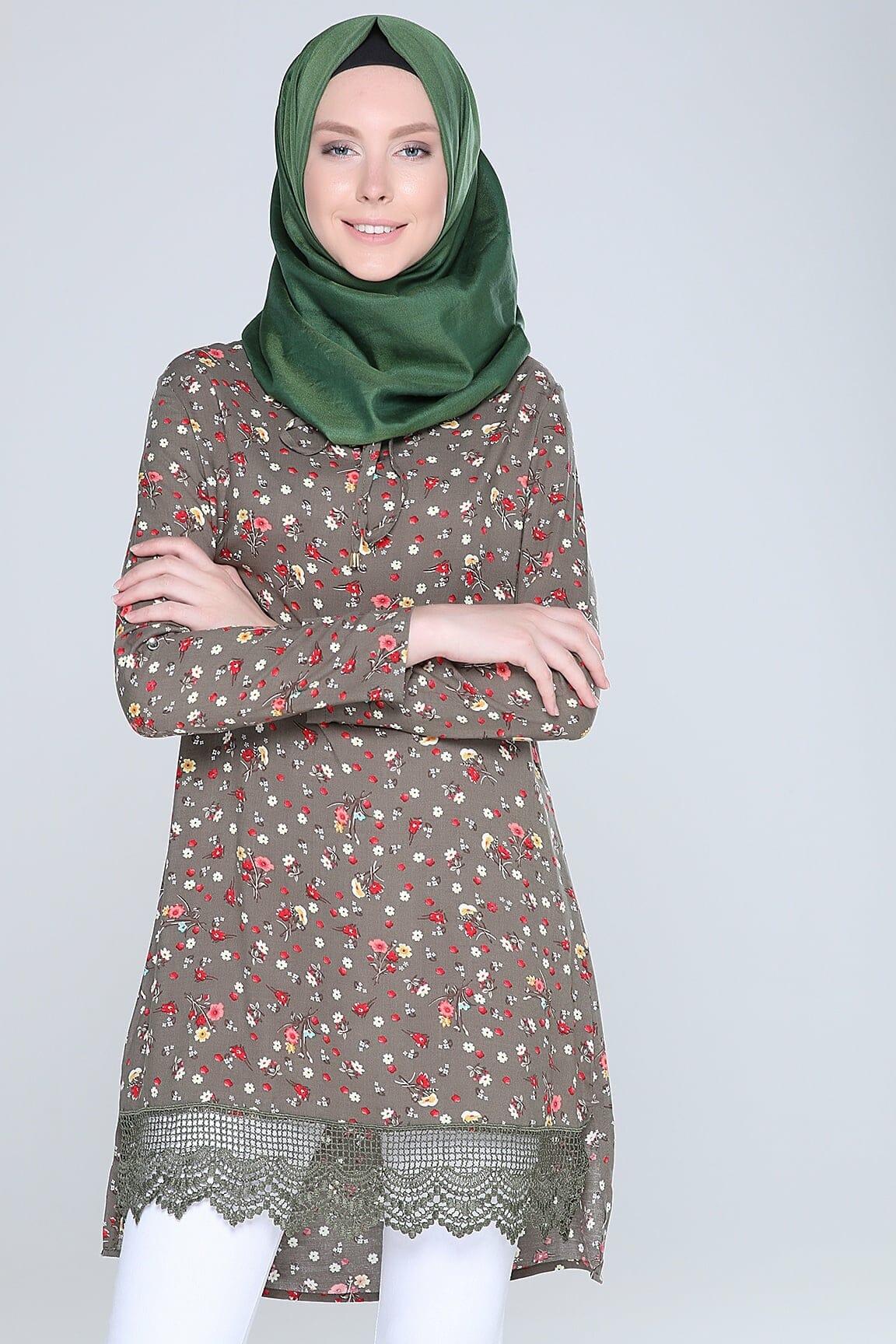 أحدث تصميمات لملابس الربيع للمحجبات جديدة