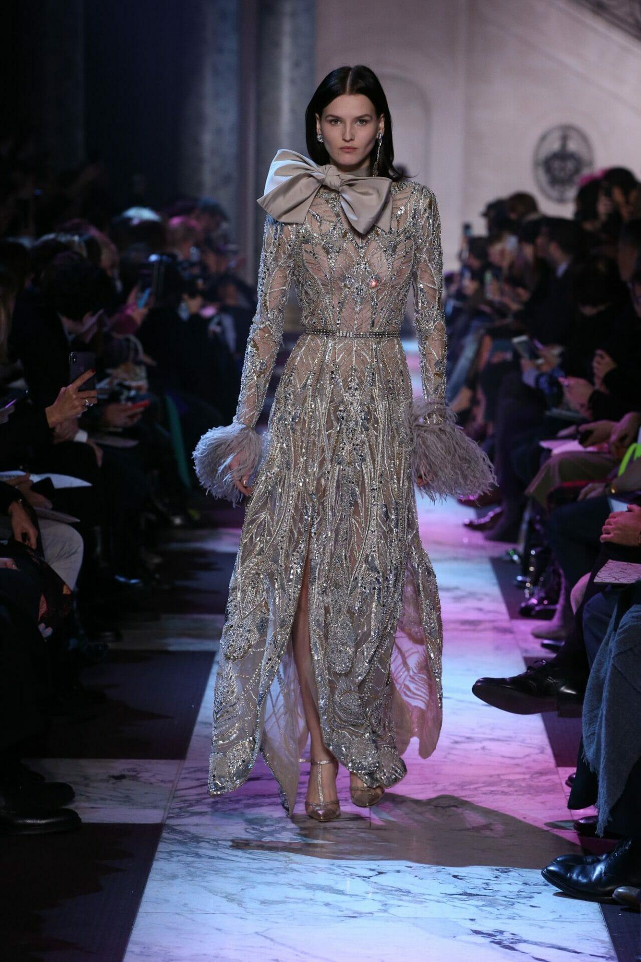 أحدث تصميمات الفساتين للمصمم ايلى صعب روعة