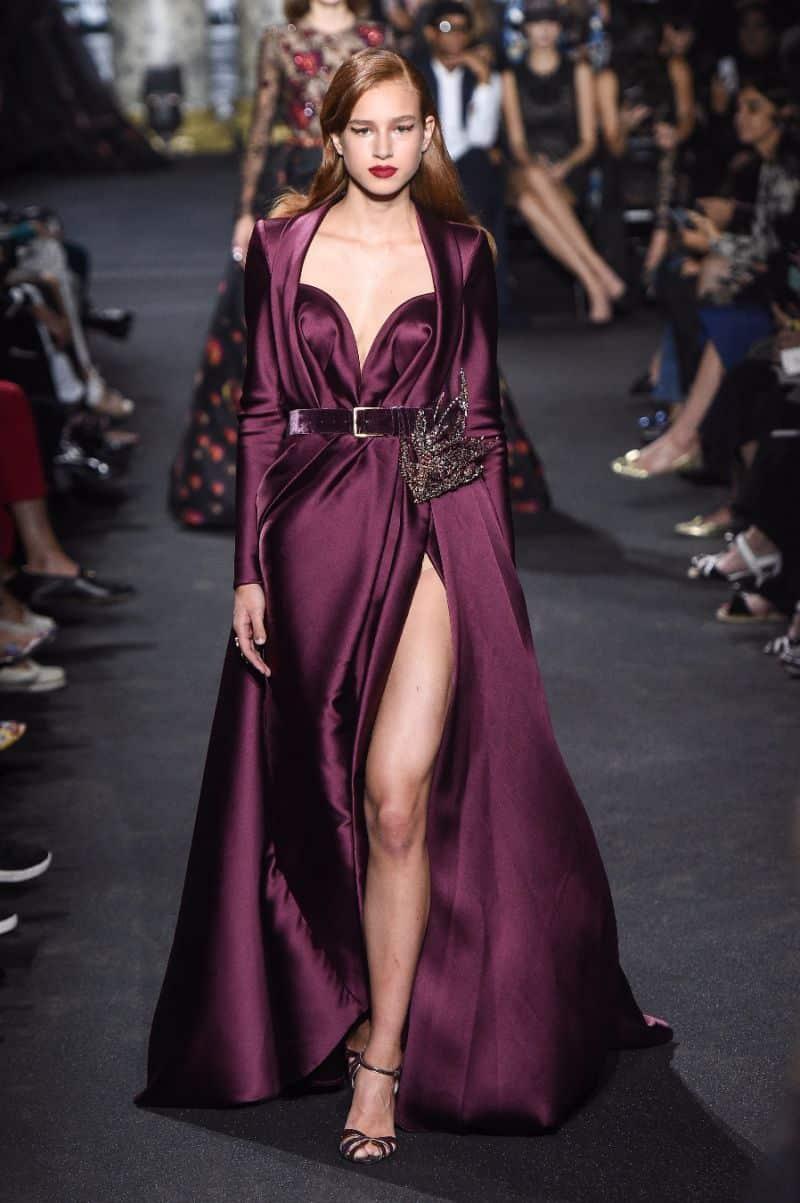 أحدث تصميمات الفساتين للمصمم ايلى صعب جميلة