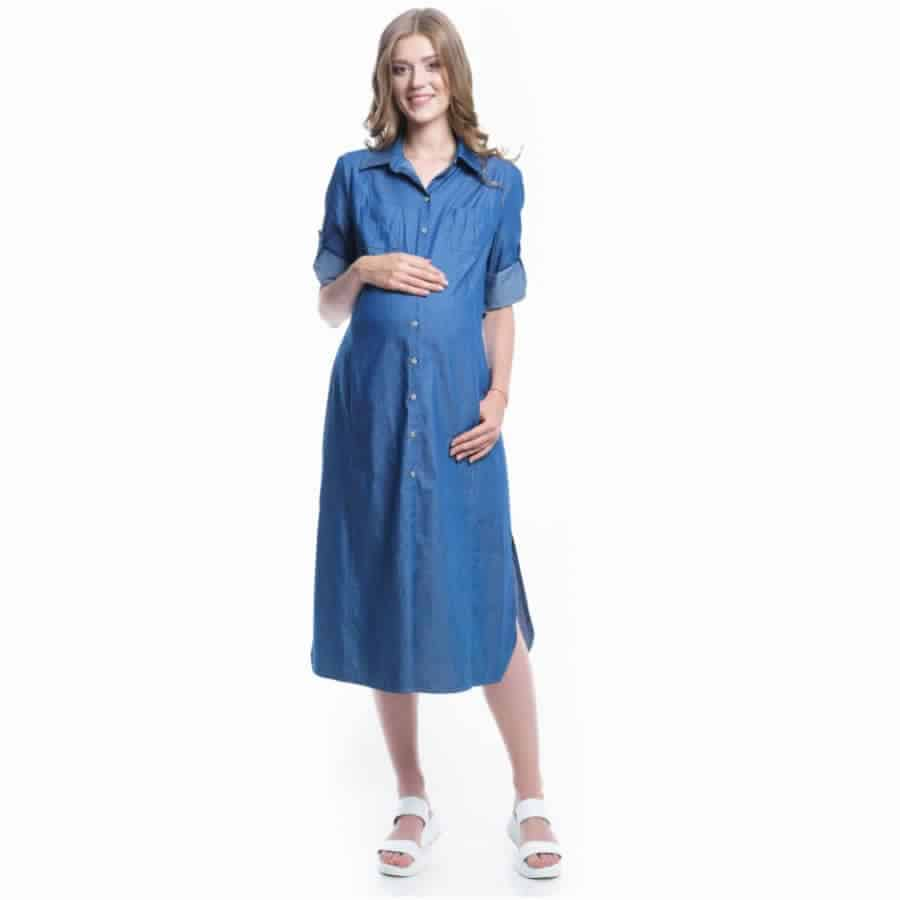 أحدث تصميمات لفساتين البنات الجينز جميلة