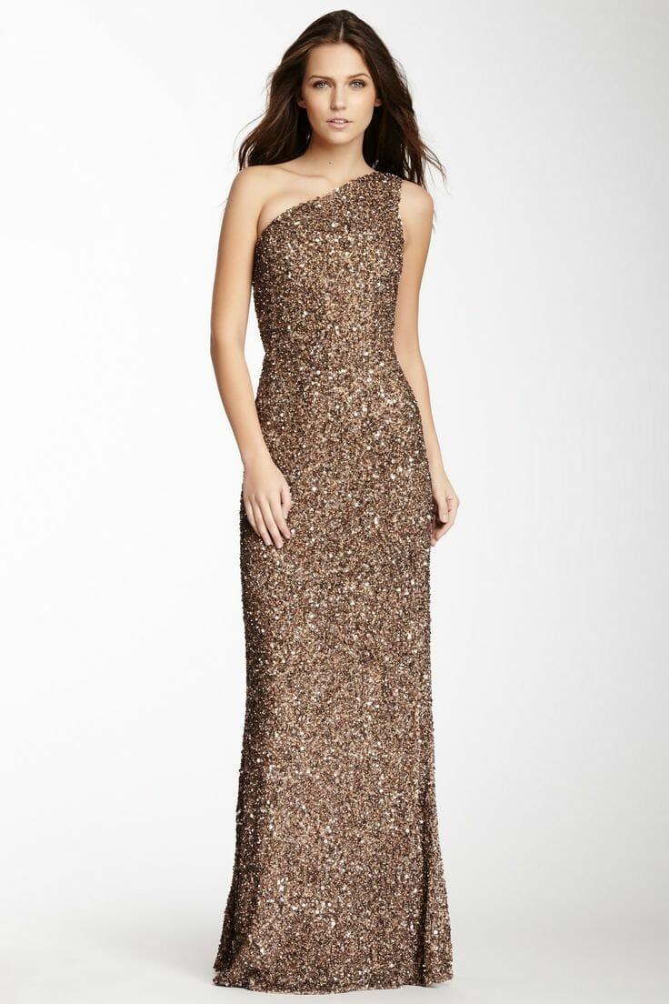 أجمل فستان تركي باللون البني جديدة