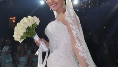 صور فساتين زفاف فنانات العرب 2018-2019 حلوة