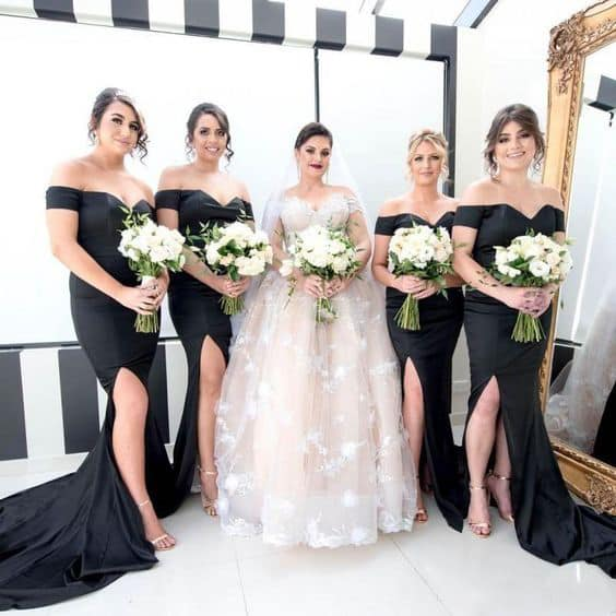 صور فساتين صديقات( أصحاب) العروسة متنوعة