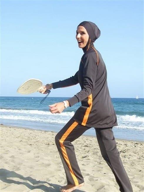 صور ملابس محجبات للشاطئ صيف حلوة