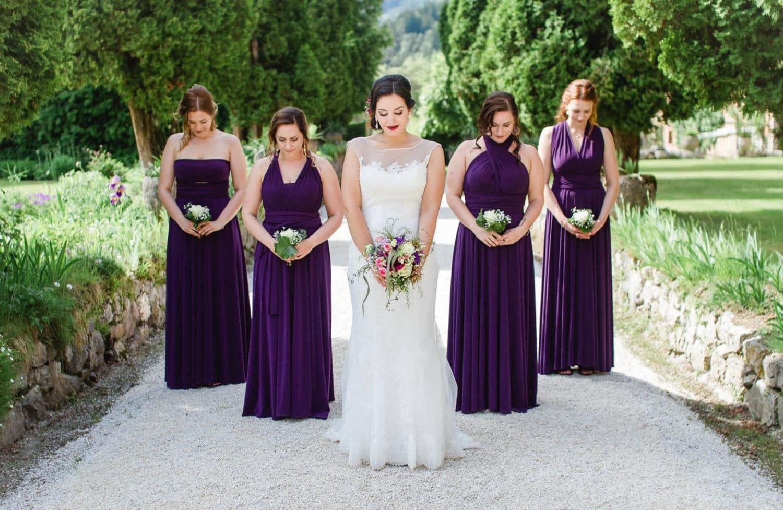 صور فساتين صديقات( أصحاب) العروسة روعة