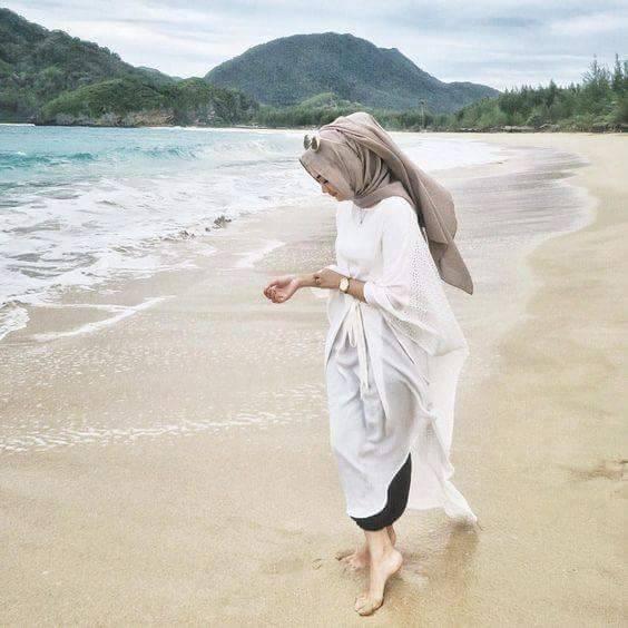 صور ملابس محجبات للشاطئ صيف جديدة