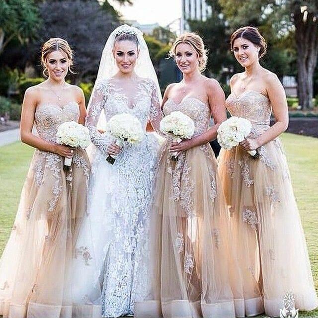 صور فساتين صديقات( أصحاب) العروسة جامدة