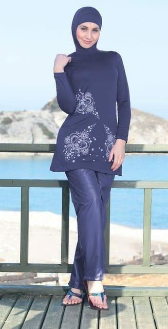 صور ملابس محجبات للشاطئ صيف جميلة