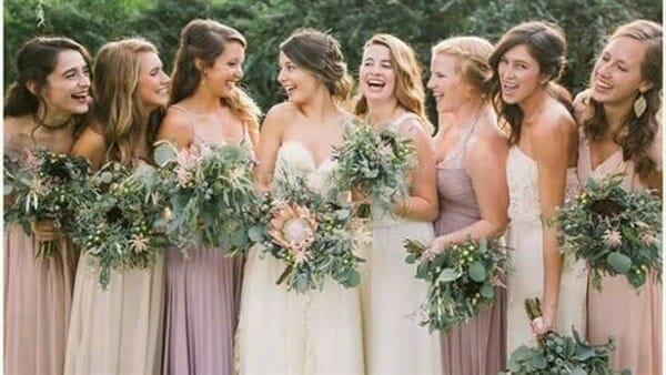صور فساتين صديقات( أصحاب) العروسة رائعة