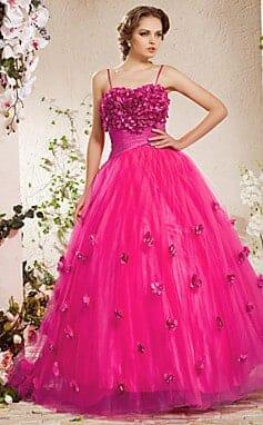 صور أحدث الموديلات لفساتين الخطوبة المنفوشة رائعة