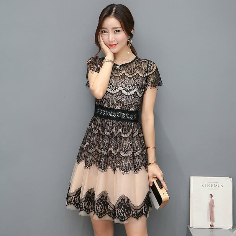 cef4c1887 صور أزياء وفساتين كورية أنيقة 2018 منوعة