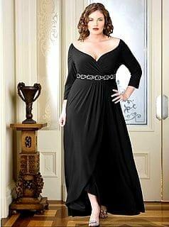 صور مميزة لفساتين التخان لإطلالة جذابة جديدة