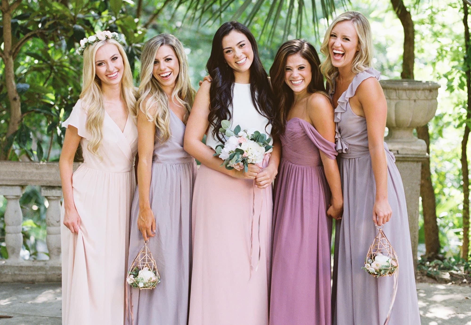 صور فساتين صديقات( أصحاب) العروسة تجنن