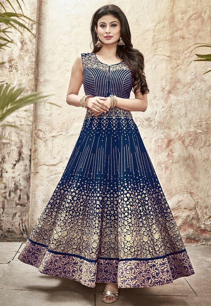 صور مميزة للأزياء الهندية على الموضة جديدة