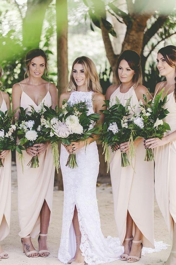 صور فساتين صديقات( أصحاب) العروسة جميلة جدا