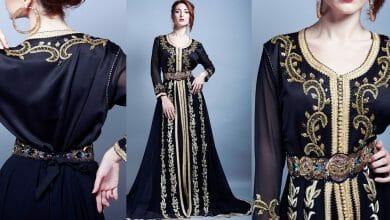 صور أخر صيحات الموضة للأزياء المغربية 2019 جميلة جدا