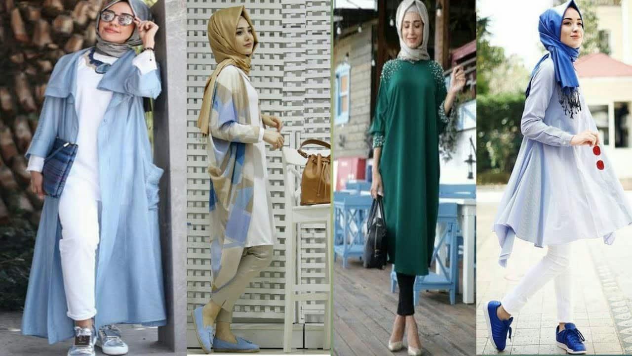 316f0b0a1 صور أزياء محجبات كاجوال لعام 2018-2019 جديدة