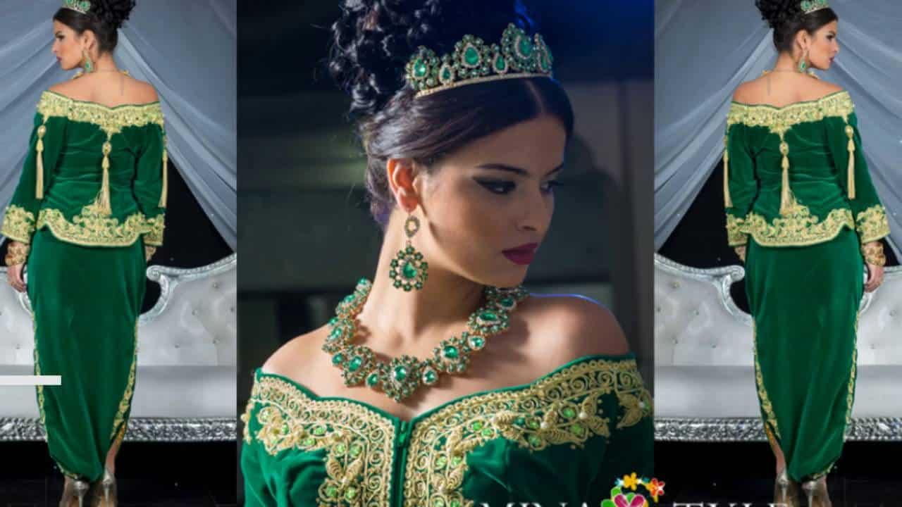 صور أحدث صيحات الموضة للأزياء الجزائرية حلوة
