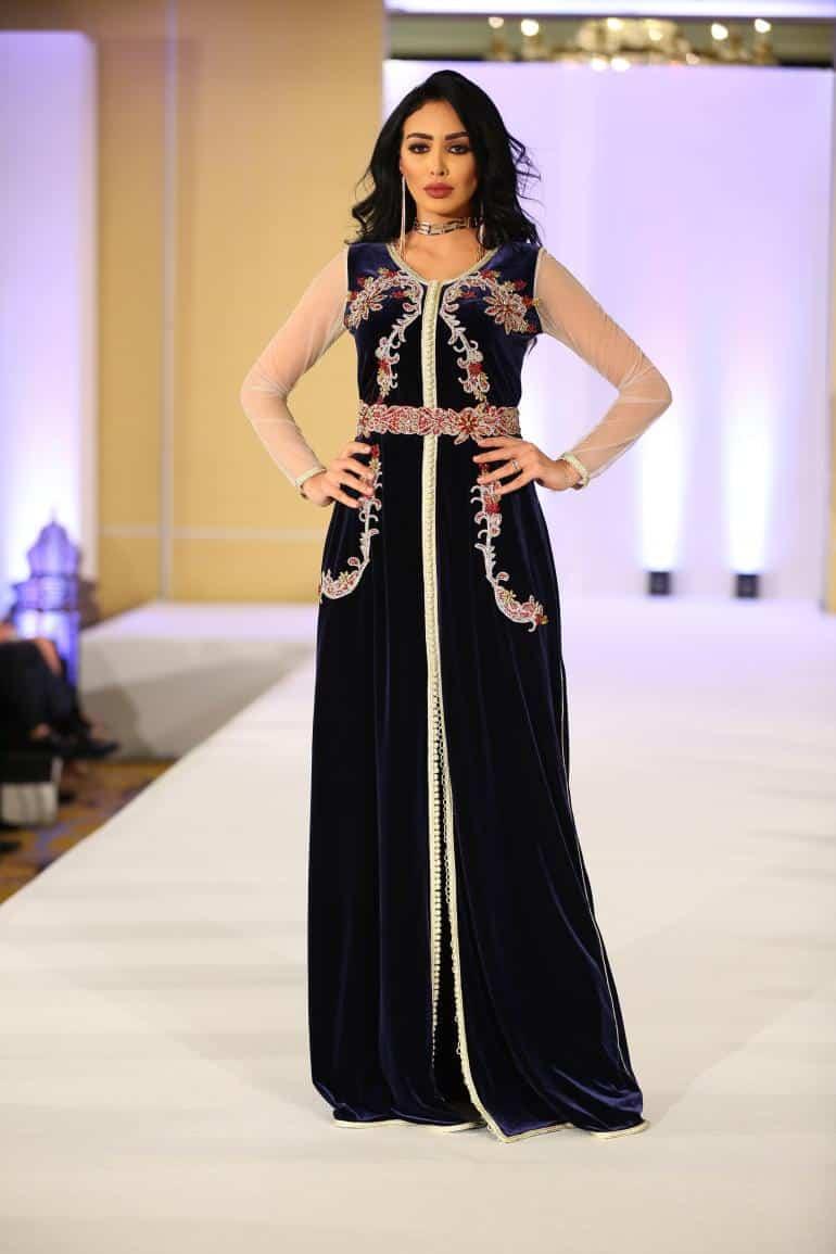 صور أخر صيحات الموضة للأزياء المغربية 2019 جديدة