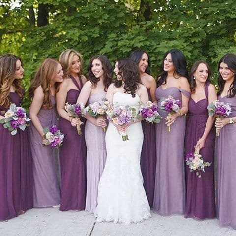 صور فساتين صديقات( أصحاب) العروسة حلوة