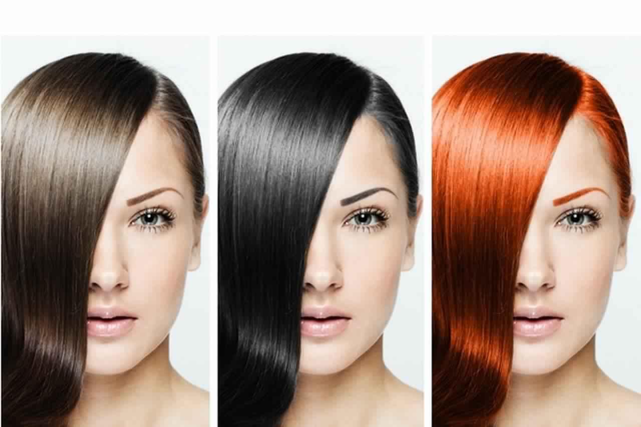 طريقة تحديد لون البشرة ولون الشعر متنوعة